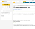Character Guidebook - Grade 10-12 (High School) Sun West