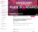 Cosmology and Astronomy: Plate Tectonics: Geological Features of Divergent Plate Boundaries