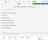 DLC Writing Traits - Grade One