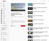 Elementary maths for kindergarten kids Video Playlist