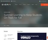 Summer Slugger from Everfi
