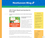 K-12 100+ Project-Based Learning Ideas for Every Age – NextLesson Blog