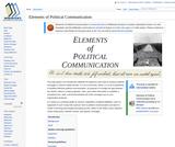 Elements of Political Communication