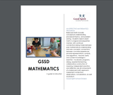 GSSD Mathematics: A Guide to Instruction