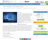 All about Linear Programming