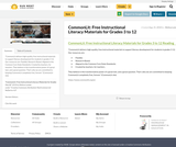 CommonLit: Free Instructional Literacy Materials for Grades 3 to 12