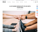 12 At-Home Workouts to Do With Your Kids – QALO