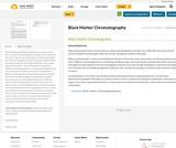 Black Marker Chromatography
