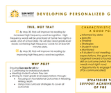 Developing Personalized Goals