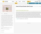 Grade 3/4 Social Studies: Book Creator