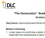 """The Stonecutter"" Read Aloud: Listening Guide"