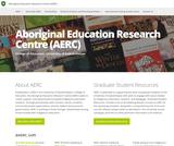Aboriginal Education Research Centre (AERC) - University of Saskatchewan