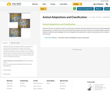 Animal Adaptations and Classification