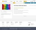 True Colours Online  & Printable Quiz Options