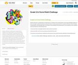 Grade 5/6: Fermi Math Challenge