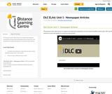 DLC ELA6: Unit 1 - Newspaper Articles