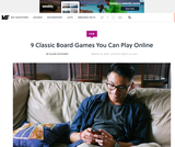 Classic Board Games You Can Play Online