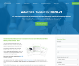 Adult SEL Toolkit for 2020-21