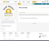 PAA: Iron Oxide
