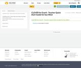 CLEVER for Everfi - Teacher Quick Start Guide for Sun West
