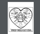 Every Child Matters Colouring Page