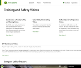 John Deere Training and Safety Videos