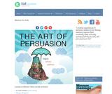 The Art of Persuasion: Rhetoric (logos, ethos, pathos)