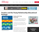 Canada's History: Treaties and the Treaty Relationship Educational Package