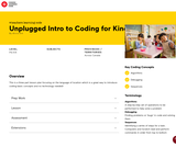 Unplugged Intro to Coding for Kindies