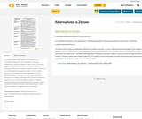 Alternatives to Zeroes