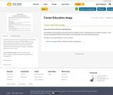 Career Education Jenga