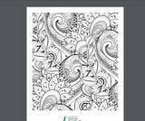 Colouring Pages for Mental Wellness & Calm