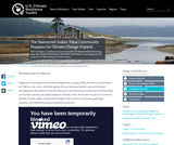 The Swinomish Indian Tribal Community Prepares for Climate Change Impacts