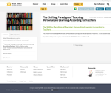The Shifting Paradigm of Teaching: Personalized Learning According to Teachers