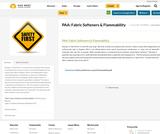 PAA: Fabric Softeners & Flammability