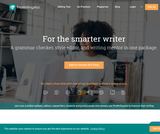 ProWritingAid - the best grammar checker, style editor, and editing tool in one package.