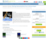 Filtering: Removing Noise from a Distress Signal