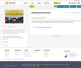 Authentic Assessment