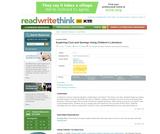 Exploring Cost and Savings Using Children's Literature