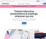 Mentimeter - Interactive Presentation Software