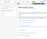 Websites to Support Learning