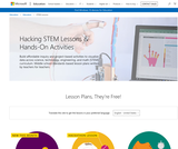 STEM lesson plans & hands-on activities