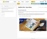 Addition Mat - Snow Globe