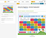 Action for Happiness - Actively Coping April