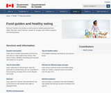 Food Guides and healthy eating