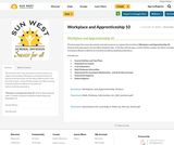 Workplace and Apprenticeship 10