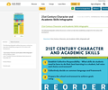 21st Century Character and Academic Skills Infographic