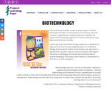 Exploring Environmental Issues: Biotechnology