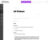 1.OA 20 Tickets