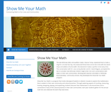 Show Me Your Math – Connecting Math to Our Lives and Communities